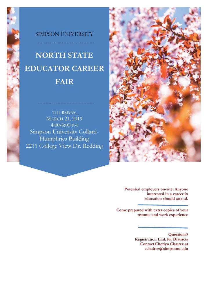 North State Career Fair Flyer