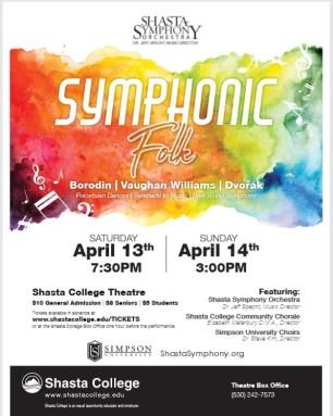 Shasta College spring concert 19