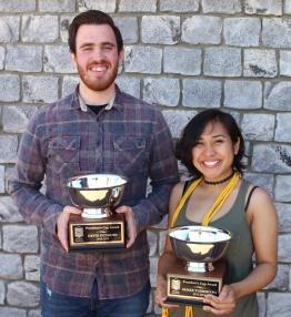David Duxbury and Sanae Yoshihara, President's Cup recipients