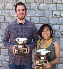 David Duxbury and Sanae Yoshihara, President's Cup recipients